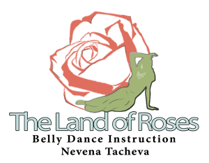 logo the land of roses bellydance sofia