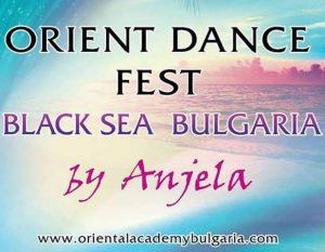 Orient Dance Fest Black Sea във Варна, България, представен от Анжела Атанасова