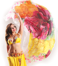 Bellydancer Nevena Tacheva- owner of The Land of Roses bellydance school in metropolitan region Nuremberg, Germany