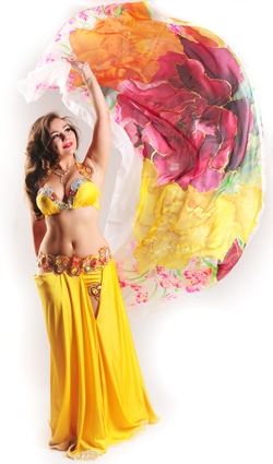 Belly dance artist - Nevena Tacheva (Bulgaria/Germany)