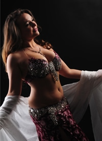 Contact Nevena - belly dance artist and professional oriental dance instructor.