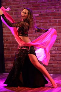 classical oriental belly dance with Vanya Petrova